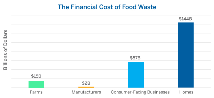 The Financial Cost of Food Waste