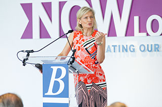 Zanny Minton Beddoes, Editor-in-Chief of The Economist, at Brown Advisory's NOW, Navigating Our World Conference